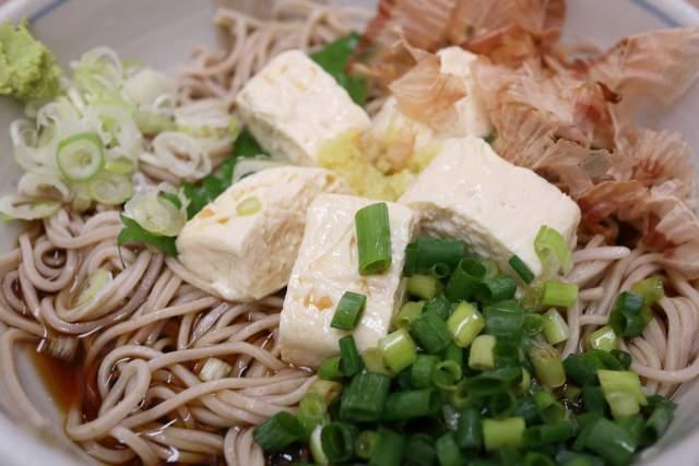 寿々木家の湯葉蕎麦