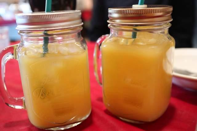 バッカのオレンジジュース