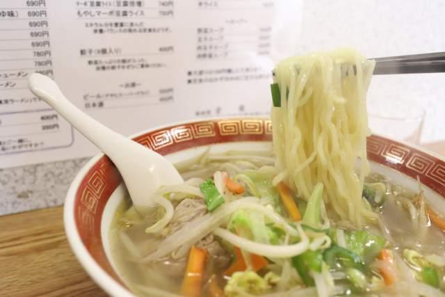 栄龍の麺リフト