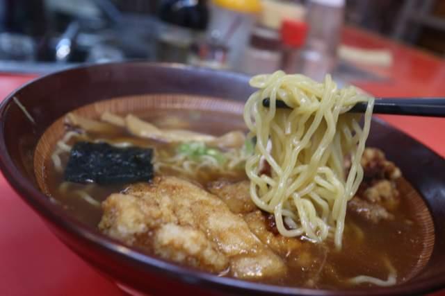 つけ麺大王の麺リフト