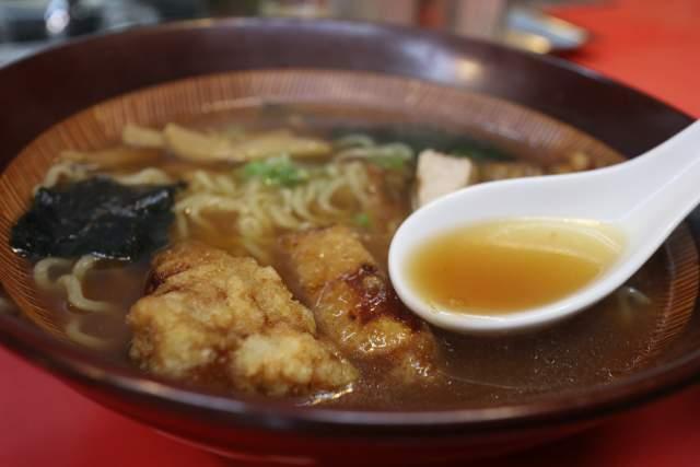 つけ麺大王のラーメンスープ
