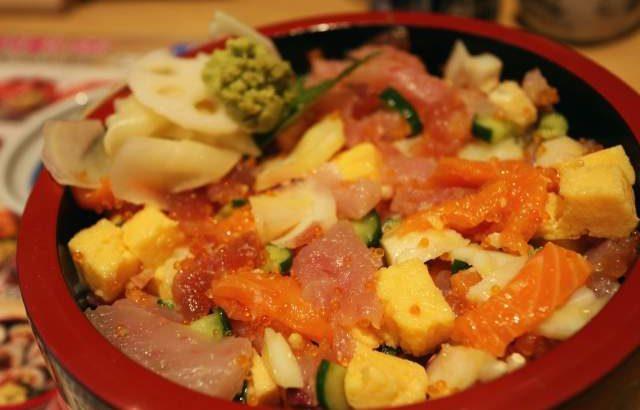 三友蓮の特製バラちらし寿司