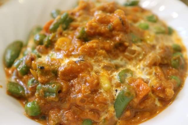 カナピナの野菜カレー