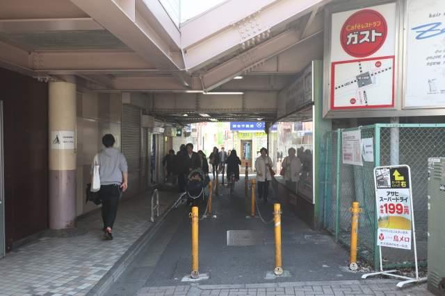 京王線のトンネル