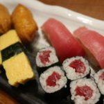 居酒屋きちんとで寿司を食べる