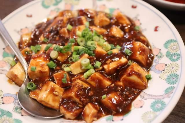 皇庭餃子房の麻婆豆腐