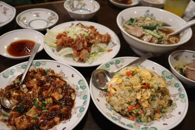 皇庭餃子房の料理