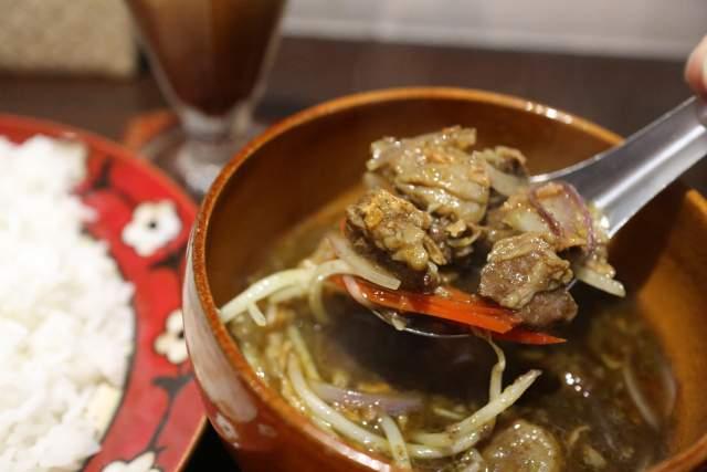 ナシラウォンの牛肉