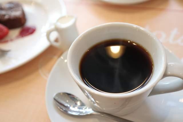 煙突カフェのコーヒー