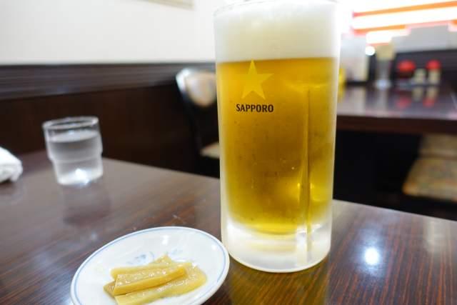 康楽の生ビール
