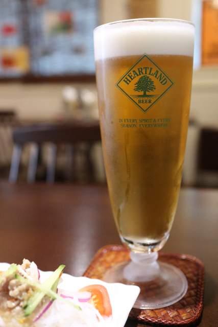 ムンランギットの生ビール