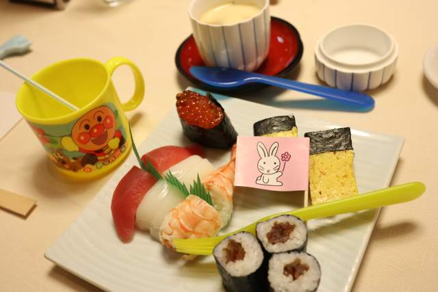 旭鮨のお子様寿司