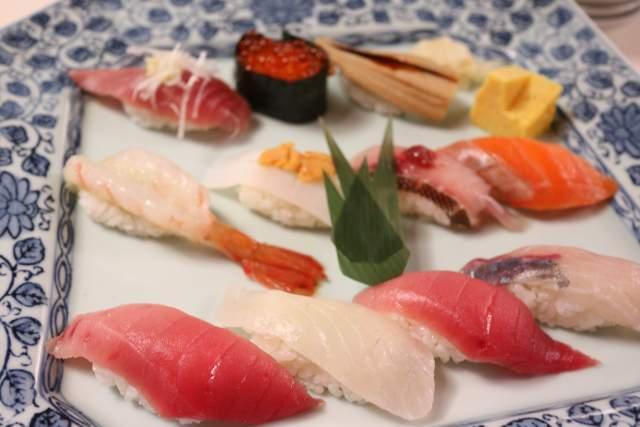 旭鮨の握り寿司 わか葉