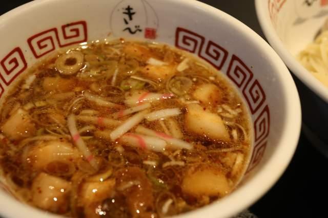 つけそばのスープ@きび