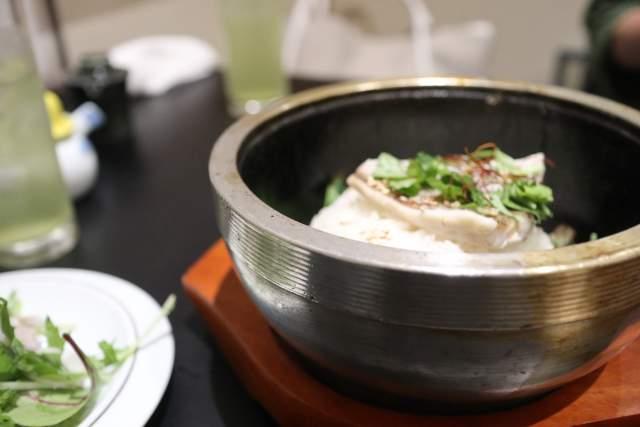 米・肴・旬菜 八の石焼き鯛めし茶漬け@明大前
