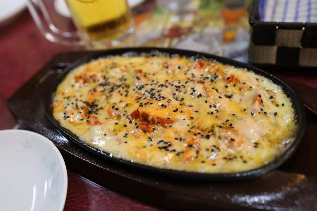 ミランのホットチキンチーズ
