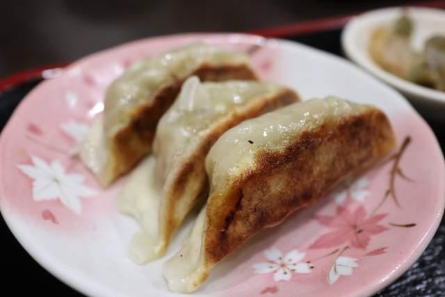 金蘭の焼き餃子