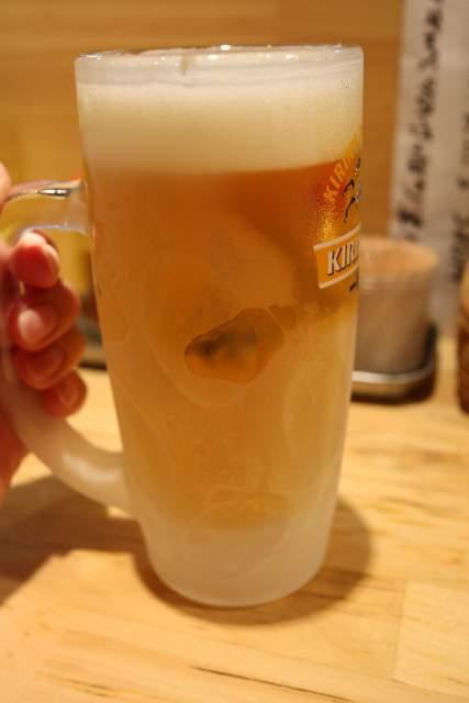 まるじの生ビール