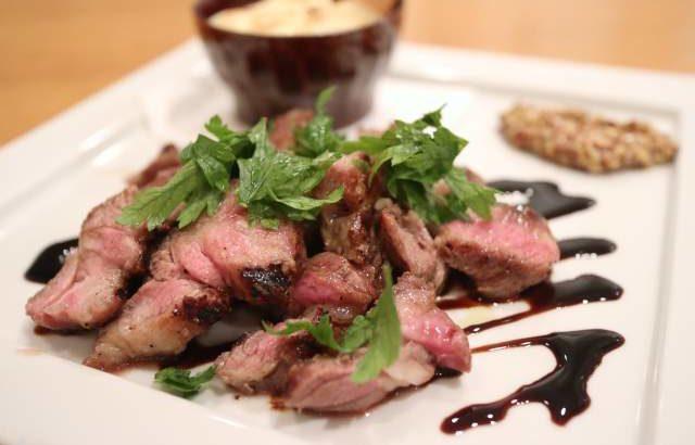 イタリア食堂イルトンドの激ウマ仔羊ステーキ