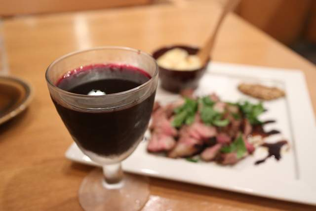 イルトンドの赤ワイン