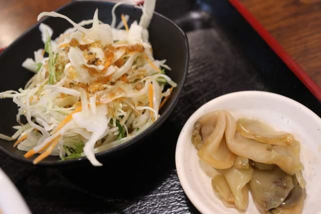 金蘭のサラダ