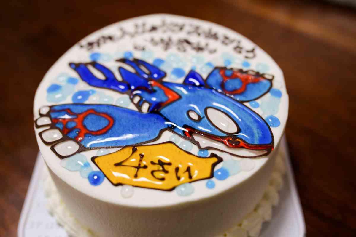 チェシャのキャラクターケーキ