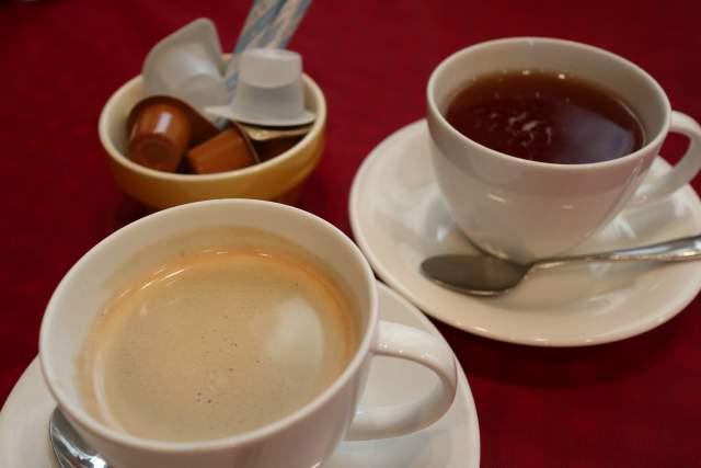 バッカの珈琲と紅茶