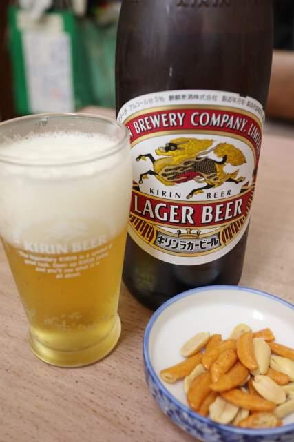 寿々木家のビール