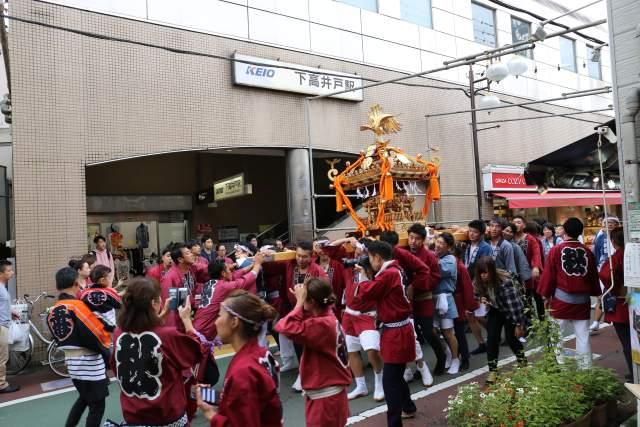 菅原神社例大祭のお神輿5