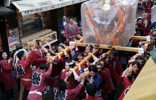 【お神輿出ました】菅原神社の例大祭2018