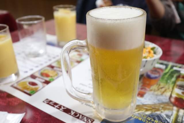 ミランの生ビール