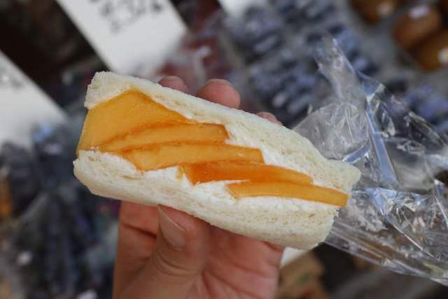 パーラーシシドの柿サンド