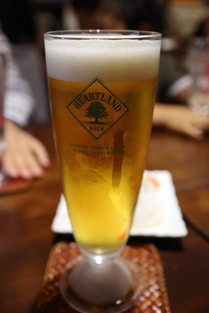 ムンランギットカフェの生ビール