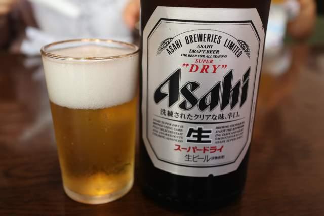 皇庭餃子房の瓶ビール