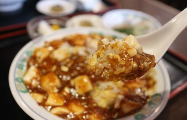 皇庭餃子房の麻婆豆腐炒飯