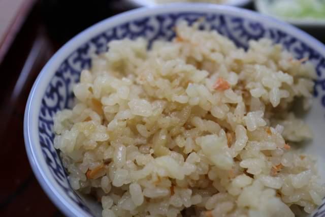寿々木家の鮭の炊き込みご飯