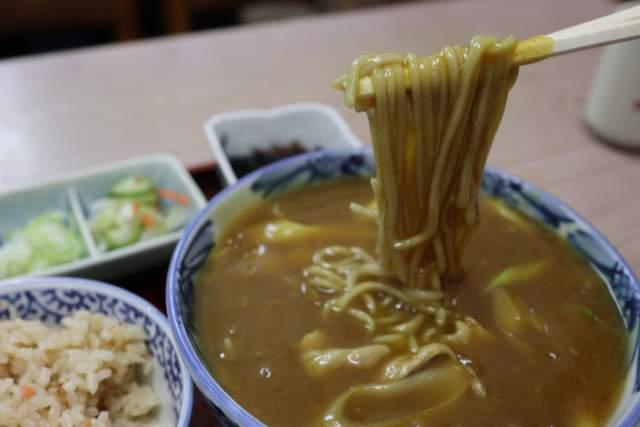 寿々木家のカレー蕎麦