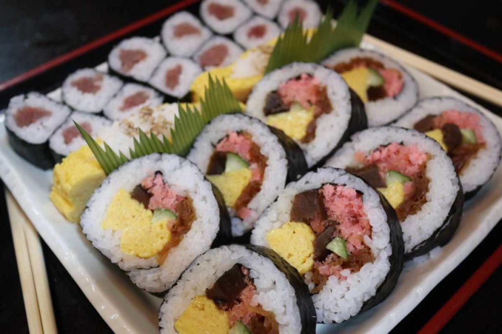 大和寿司の巻き寿司