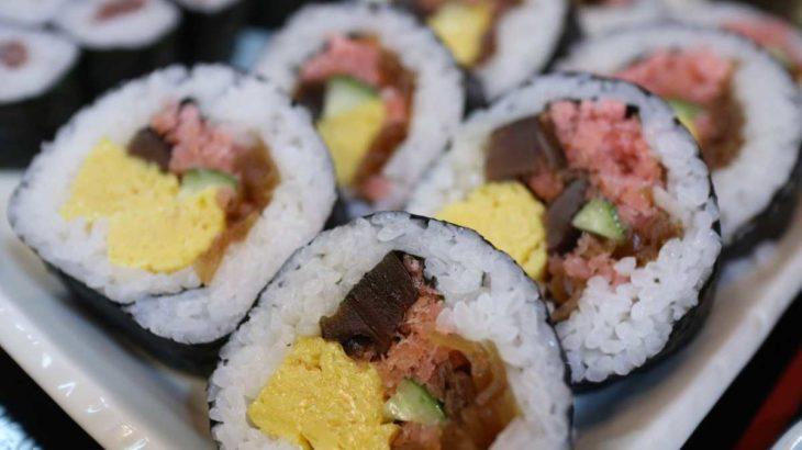 大和寿司の太巻き
