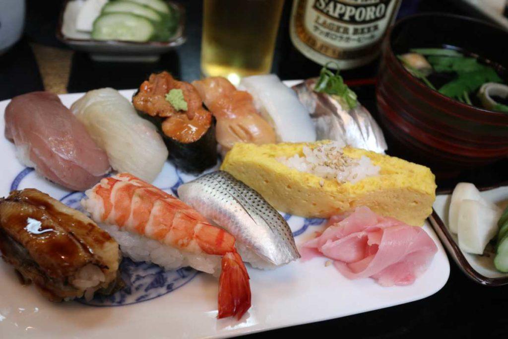 大和寿司の握り寿司