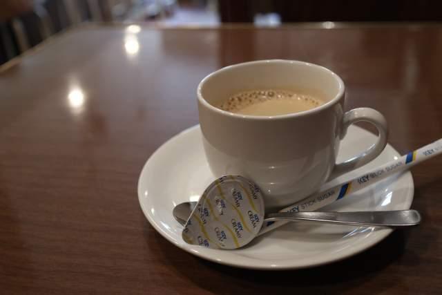 ちゃぶ台のコーヒー