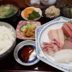 魚魚魚の刺身定食は美味しくてボリューム満点