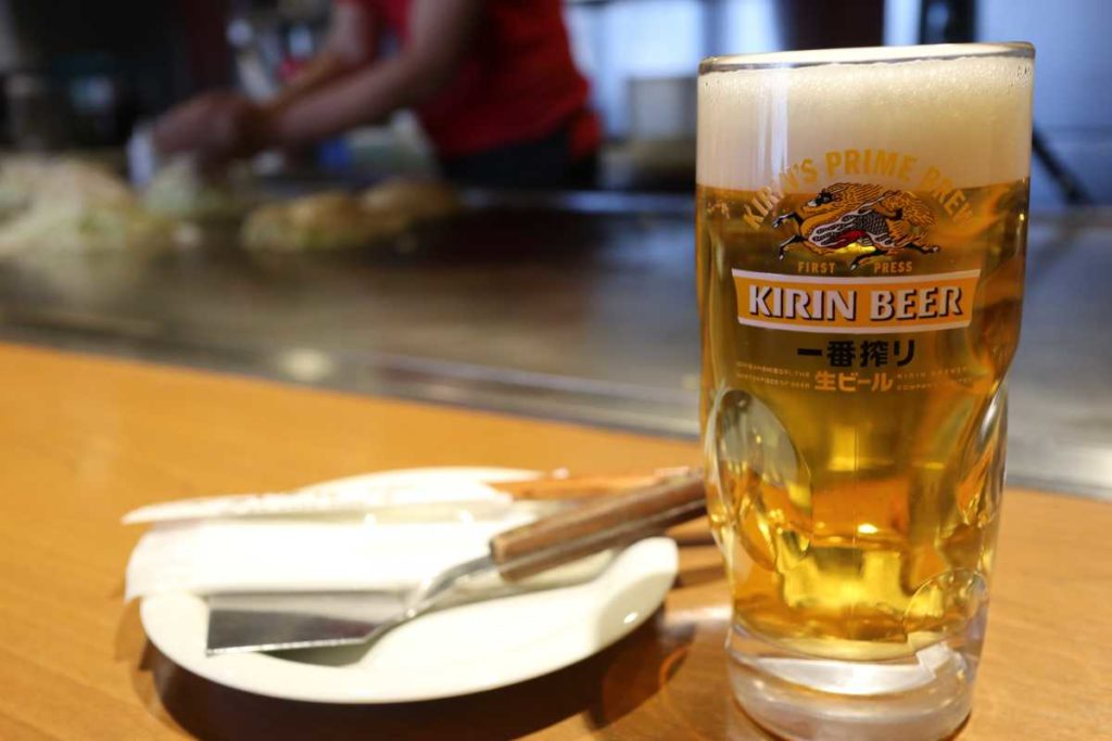 こいのぼりの生ビール