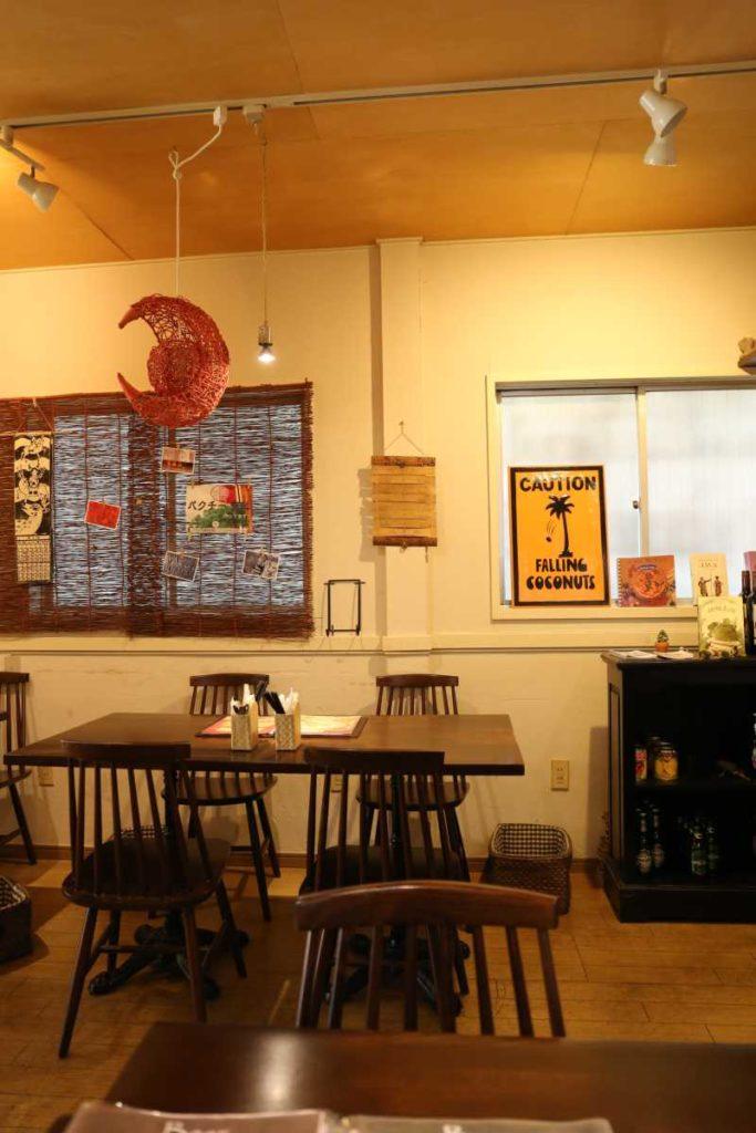 ムンランギットカフェの内観