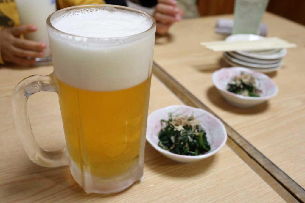 宮古のビール 大ジョッキ