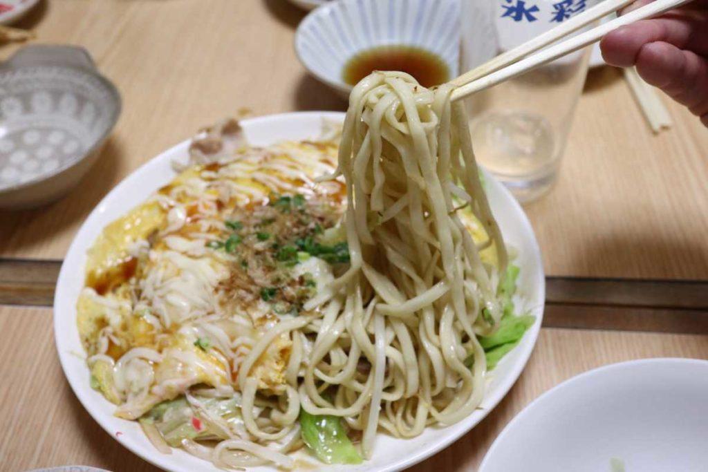 宮古焼きの麺リフト