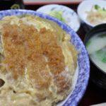 寿々木家のカツ丼は安心の美味しさ