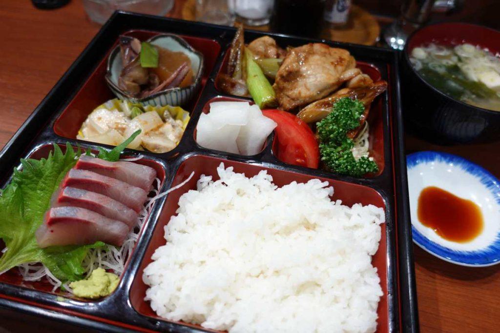 魚魚魚の重箱膳