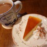 Mr.Tontoのスフレチーズケーキとココア