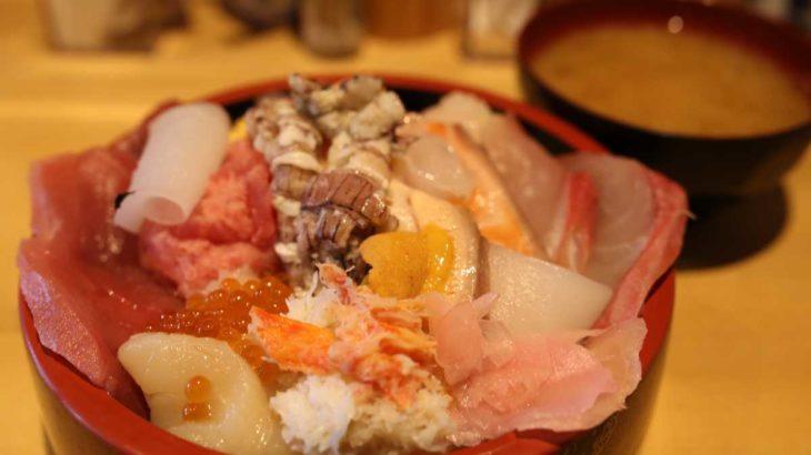 三友蓮の具材たっぷり おまかせ海鮮丼
